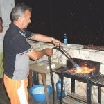 Dani, unser Grillmeister für den Abend