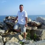 Meiner einer an Promenade zwischen Balchik und Albena