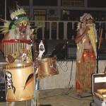 Indianermusik in Losenez