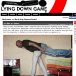 Lying down game